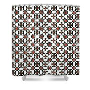 Azulejos Magic Pattern - 06 Shower Curtain