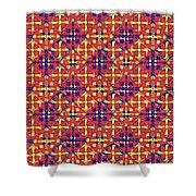 Azulejos Magic Pattern - 10 Shower Curtain