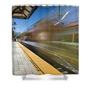 Azusa Downtown Metro Station Shower Curtain