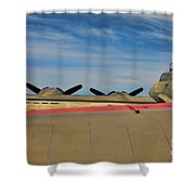 B-17 Flying Fortress Shower Curtain