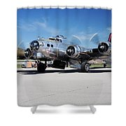 B-17 Flying Fortress, Yankee Lady Shower Curtain