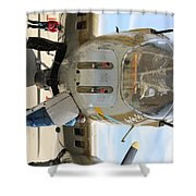 B-17 Front  Shower Curtain