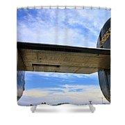 B-24j Tail  Shower Curtain