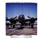 B-25 Bombers Shower Curtain