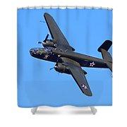 B-25 Mitchell, Doolittle Raiders Shower Curtain