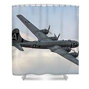 B-29 Superfortress Shower Curtain