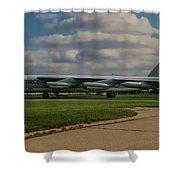 B-52 City Of Riverside Shower Curtain