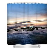 B-52 Inbound Shower Curtain