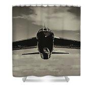 B-52 Stratofortress Triptych - 2 Shower Curtain