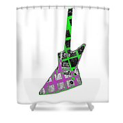 B Blues  Shower Curtain