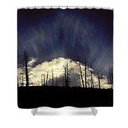 Sun Fire Shower Curtain