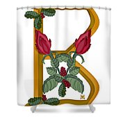 B Is For Beauty Shower Curtain