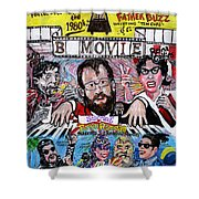 B Movie Shower Curtain