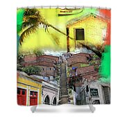 Recife Colors Shower Curtain