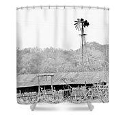 B/w032 Shower Curtain