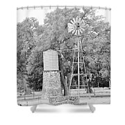 B/w036 Shower Curtain