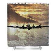 B17 Dawn Shower Curtain