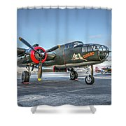 B25 Mitchell At Livermore Shower Curtain