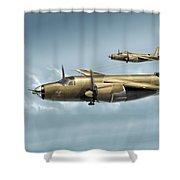 B26 Mk Shower Curtain