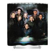 B5 Among The Stars Shower Curtain