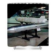 B61 Nuclear Bomb Usaf Shower Curtain