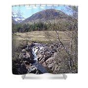 Ba Bridge, West Highlands, Scotland Shower Curtain