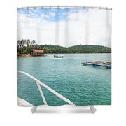 Ba Lua Archipelago Shower Curtain