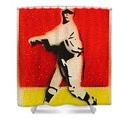 Babe Ruth  Shower Curtain