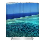 Babeldoap Islands Shower Curtain