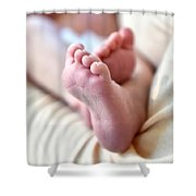 Babies Feet Shower Curtain