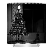 Baby And Tree Shower Curtain