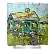 Baby Bungalow Shower Curtain