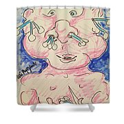 Baby Care Shower Curtain