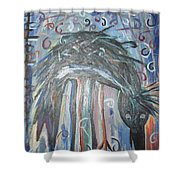 Baby Crow11 Shower Curtain