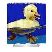 Baby Duck Shower Curtain