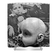 Baby Face Shower Curtain
