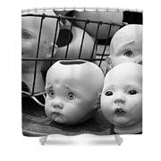Baby Heads, No.1  Shower Curtain