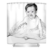 Baby Jane Shower Curtain