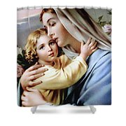 Baby Jesus Shower Curtain