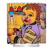 Baby Play Shower Curtain