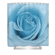 Baby Soft - Blue Shower Curtain