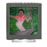 Baby Suggs Shower Curtain