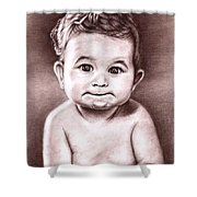Babyface Shower Curtain