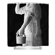 Babylonian God Of Healing, 5000 Bc Shower Curtain