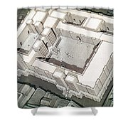 Babylonian Temple Shower Curtain