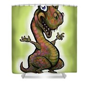 Babysaurus Rex Shower Curtain