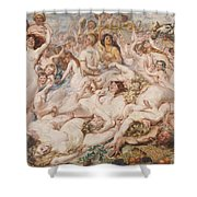 Bacchanalia Shower Curtain