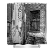 Back Alley Art Works Shower Curtain