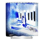 Back Alley Rendezvous Shower Curtain