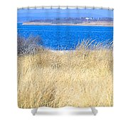 Back Bay I I  Shower Curtain